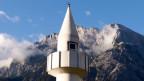 Eine Moschee im Tiroler Dorf Telfs in West-Österreich.