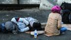 Flüchtlinge in Istanbul.