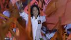 Keiko Fujiomori buhlt um Stimmen für die Präsidentschaftswahl in Peru.