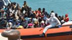 Sind nach der Schliessung der Balkan-Route vermehrt Schlepper-Boote in Italien angekommen?