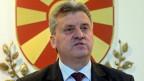 Der Verdacht besteht, dass Präsident Gjorge Ivanov versucht, seine Leute zu schützen.