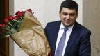 Wlodimir Groisman: «Wir müssen die Ukraine aus der Krise führen und zu einem modernen, europäischen Land machen.»