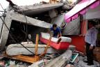 Schäden in der Stadt Pedernales im Norden