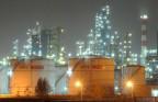 Öl-Tanks im chinesischen Shenyang