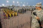 Das US-Gefangenenlager im Südirak Anfang 2009
