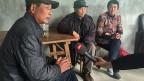 Das Ehepaar Gu sitzt in einem grauen Betonhäuschen und unterhält sich mit Bauern aus der Nachbarschaft. Mit der modernen Technik kämen sie nicht mehr mit, sagt der 66-jährige Gu Meicheng, die Landwirtschaft rechne sich nicht mehr. Das Paar sucht jetzt nach einem Pächter; es ist typisch für die traditionelle chinesische Landwirtschaft.