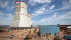 Es ist dem Kreml viel wert, dass Russland eine Atommacht bleibt. Präsident Putin gibt die Linie vor: Der Anteil des Atomsstroms soll von derzeit 18 auf 25 Prozent steigen. Bild: Das AKW Kalininskaya, 280 Kilometer nordwestlich von Moskau.