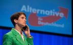 AfD-Chefin Frauke Petry am Parteitag in Stuttgart