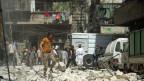 Nach den Luftangriffen auf eine Gesundheitsstation und andere Ziele in Aleppo am Freitag ist die Situation prekär.