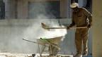 Er könnte zu den Opfern der selbstverschuldeten saudischen Wirtschaftskrise gehören: Indischer Arbeiter in Riad, der Hauptstadt von Saudiarabien.