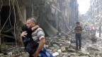 Die Gefechte und Bombardements in der nordsyrischen Metropole Aleppo werden immer heftiger. Trotz aller diplomatischer Bemühungen um eine Rückkehr zur Waffenruhe. Die Grossstadt ist einer der umkämpftesten Schauplätze im syrischen Bürgerkrieg.