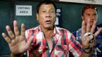 Rodrigo Duterte, vermutlich der nächste Präsident der Philippinen. Er pöbelt, droht, prahlt – und wird für seine harte Hand geliebt.