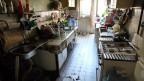 Das Wohnen in Kommunalkas hat ähnliche Vor- und Nachteile wie das Leben in westlichen Wohngemeinschaften. Bild: Blick in die Kommunalka-Küche.