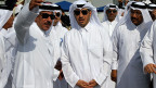 Es war der Emir von Qatar, Hamad bin-Khalifa al-Thani (im Zentrum), der im Jahr 2012 forderte: Syriens Diktator Baschar al-Assad muss weg, und sei es mit militärischen Mitteln. Nie zuvor hatte ein arabischer Führer vor der UNO so etwas verlangt.