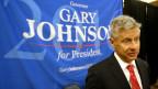 Gary Johnson von der Libertarian Party.