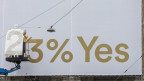 Die Initianten für ein bedingungsloses Grundeinkommen haben sich eine höhere Zustimmung erhofft.
