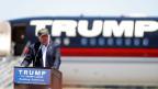 Präsidentschaftskandidat Donald Trump in Redding, Kalifornien am 3. Juni 2016.