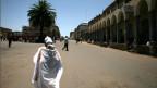 Die Uno-Kommission zeichnet ein düsteres Bild von Eritrea. Bild: Eine Frau in der Hauptstadt Asmara.