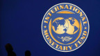Logo des Internationalen Währungsfonds.