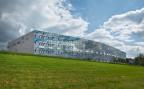 Ein Fabrikationsgebäude von Cartier in Villars-sur-Glâne