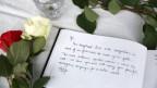 Kondolenzbuch für die getötete Politikerin Jo Cox.