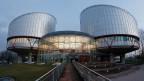 Gebäude des Europäischen Gerichtshofs für Menschenrechte in Strassburg.