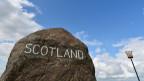 An der  Grenze zwischen England und Schottland.
