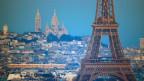 Blick auf Paris.