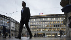 Zentrum des Schweizer Finanzplatzes: Paradeplatz in Zürich, umrahmt von Grossbanken.