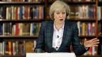 Innenministerin Theresa May ist die Spitzenkandidatin für die Nachfolge von David Cameron.