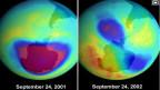Die Ozon-Schicht schützt die Menschen vor der gefährlichen UV-Strahlung.