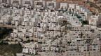 Die jüdische Siedlung Givat Zeev nahe der Palästinenserstadt Ramallah.
