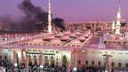 «Die Organisation zeigt, dass sie weltweit in der Lage ist, Anschläge zu verüben. Sie versucht, auf diese Weise, Rekruten zu gewinnen», sagt Guido Steinberg im Gespräch. Bild: Die Moschee des Propheten Mohammed in Medina.