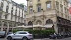 In diesem Restaurant drehte Hitchcock und die Zeichner von Ratatouille liessen sich vom Platz inspirieren für das Restaurant von Rémy.