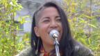 Rachel Lastimosa: Die Sängerin der Band «Dirty Boots» ist stolz, eine Filipina zu sein.