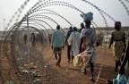 Vertriebene bei Juba im Südsudan