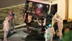 Der Lastwagen, mit dem in Nizza über 80 Menschen getötet wurden, wird untersucht.