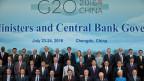 Die Finanzelite der G20-Länder versammelt sich in China.