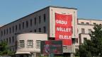 Auf dem Transparent im Gebäude des Generalstabs der türkischen Armee in Ankara steht: «Die Armee Hand in Hand mit der Nation».