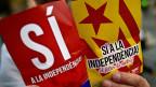 Die Katalanen wollen weg von Spanien, nicht erst seit gestern.