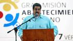 Venezuela – ein kollabierendes Land. Noch-Präsident Nicolas Maduro während einer Rede in der Hauptstadt Caracas am 1. August.