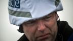 Sisyphus im gepanzerten Auto: Wie der Schweizer OSZE-Beobachter Alexander Hug in der Ostukraine zwischen den Fronten vermittelt.
