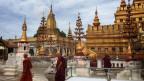 Der Ananda Tempel, eines der Prunkstücke der Tempelanlage.