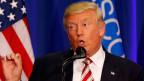 Donald Trump war angeblich verärgert von Versuchen seiner Berater, ihn auf einen moderaten Kurs bringen zu wollen.