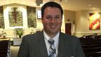 Pastor Joe Shakour in der Tabernacle Baptist Church in Wilson, North Carolina.