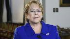 Chiles Präsidentin Michelle Bachelet.