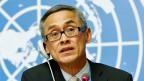 Vitit Muntarbhorn thailändisches Mitglied der UNO-Menschenrechtskommission.