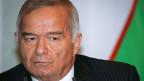 Usbekistans Präsident Islam Karimow regierte seit 25 Jahren sein Land mit strenger Hand. Bild von 2006.
