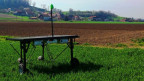 Der Prototyp eines Feld-Roboters - entwickelt im Technopark bei Yverdon.