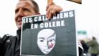 «Man muss Calais von der Situation befreien – für uns, aber auch für die Migranten», sagt ein Einwohner von Calais zur Lage im Flüchtlingscamp «Jungle».